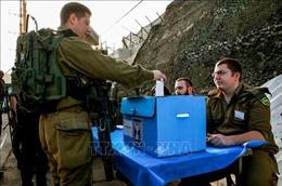 Lực lượng phòng vệ Israel bỏ phiếu sớm trước ngày bầu cử chính thức