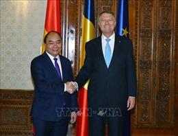 Thủ tướng Nguyễn Xuân Phúc hội kiến Tổng thống, Chủ tịch Thượng viện Romania