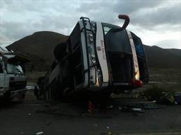 Tai nạn xe buýt tại Bolivia, gần 40 người thương vong