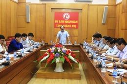 Khẩn trương giải phóng mặt bằng tuyến đường bộ cao tốc Cam Lộ - La Sơn