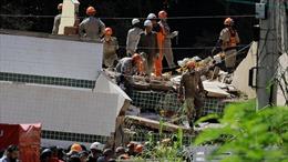 Sập chung cư, 19 người thiệt mạng và mất tích