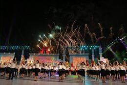 Trình diễn đường phố và nghệ thuật chào mừng Lễ hội Đền Hùng