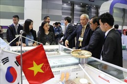 Hải sản Việt Nam khẳng định thương hiệu tại Hội chợ quốc tế Seoul 2019