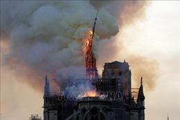 Vụ cháy Nhà thờ Đức Bà: Hệ thống chuông điện có thể là nguyên nhân