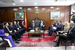 Việt Nam - Brazil tăng cường hợp tác trong lĩnh vực lập pháp