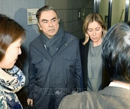 Tòa án Tokyo cho phép cựu Chủ tịch Nissan nộp bảo lãnh khoảng 4,5 triệu USD