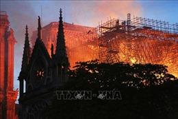 Nhiều lãnh đạo thế giới bày tỏ nuối tiếc về vụ cháy Nhà thờ Đức Bà Paris