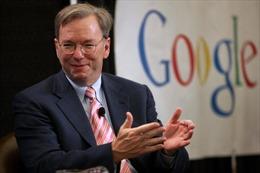 Google tạm biệt 'thuyền trưởng'Eric Schmidt