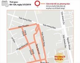 Phân luồng giao thông tại Hà Nội phục vụ Lễ Quốc tang nguyên Chủ tịch nước Lê Đức Anh
