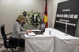 Lễ viếng và mở sổ tang nguyên Chủ tịch nước Lê Đức Anh tại Hoa Kỳ và Canada