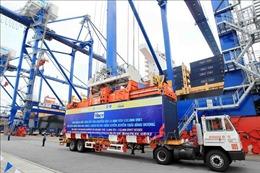 Tàu container đầu tiên cập Cảngcontainer Quốc tế Tân Cảng - Hải Phòng