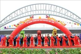 Hải Phòng khánh thành nút giao Nguyễn Văn Linh và dự án chỉnh trang sông Tam Bạc