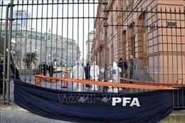 Bị đe dọa đánh bom, Argentina phải sơ tán Phủ Tổng thống, trụ sở Hạ viện