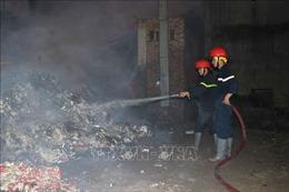 Cháy lớn tại Công ty giấy Paper Việt Nam, Bắc Ninh