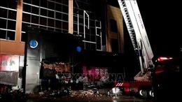 Sập quán bar tại Trung Quốc, gần 100 người thương vong