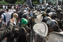 Tổng thống Indonesia cam kết sẽ mạnh tay trấn áp những phần tử gây rối