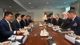 Việt Nam - Hoa Kỳ tiếp tục thúc đẩy hợp tác kinh tế-thương mại-đầu tư và quốc phòng