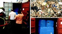 Philippines thu giữ 7 container rác chuyển đến từ Australia