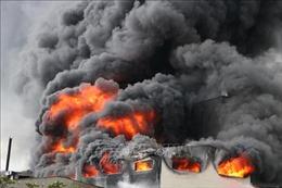 Cháy xưởng sản xuất hương tại Đà Nẵng