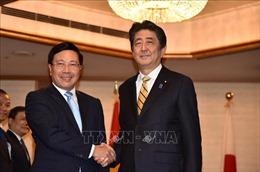 Thủ tướng Shinzo Abe: Nhật Bản sẽ tiếp tục tích cực hỗ trợ Việt Nam phát triển