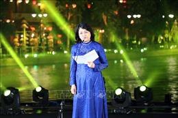 Phó Chủ tịch nước dự Gala nghệ thuật 'Sắc màu văn hóa bốn phương'