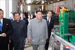 Nhà lãnh đạo Triều Tiên kêu gọi hiện đại hóa ngành cơ khí chế tạo