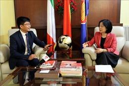 Quan hệ Việt Nam - Italy đang trên đà phát triển tích cực