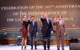 Lễ Kỷ niệm 243 năm Quốc khánh Hoa Kỳtại Thành phố Hồ Chí Minh
