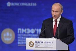 Diễn đàn SPIEF 2019:Nga kêu gọi tăng cường hiệu quả của WTO