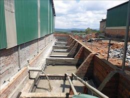 Xử phạt Công ty đá bazan Đắk Mil xả nước thải chưa qua xử lý ra môi trường