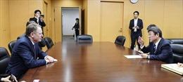 Nhật Bản và Mỹ đàm phán thương mạitại Washington