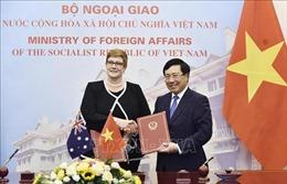 Đẩy mạnh hợp tác giữa Việt Nam - Australia