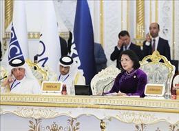 Phó Chủ tịch nước Đặng Thị Ngọc Thịnh dự Hội nghị Thượng đỉnh CICA
