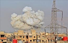 Phiến quân tấn công bằng rốckét, hàng chục dân thường Syria thiệt mạng