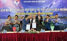 Việt Nam – Đức hợp tác để thúc đẩy phát triển bóng đá