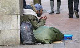 Số người vô gia cư tại London tăng cao kỷ lục