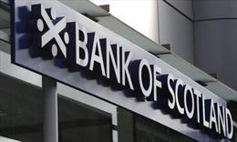 Không báo cáo hành vi gian lận, Bank of Scotland bị phạt 45 triệu USD bảng Anh