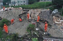 16 người bị thương trong vụ động đất rung chuyển TP Nghi Tân, Trung Quốc