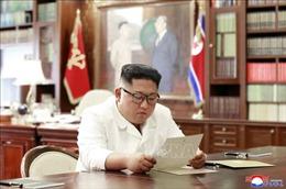 Tổng thống Mỹ gửi một bức thư 'tuyệt vời' cho nhà lãnh đạo Triều Tiên