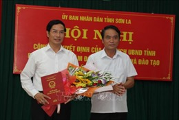 Ông Nguyễn Huy Hoàng được bổ nhiệm làm Phó Giám đốc phụ trách Sở GD-ĐT tỉnh Sơn La