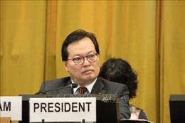 Việt Nam đảm nhiệm vai trò Chủ tịch Hội nghị Giải trừ quân bị
