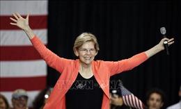 Bầu cử Mỹ 2020: Thượng nghị sĩ Elizabeth Warren ghi điểm
