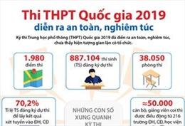 Thi THPT quốc gia 2019 diễn ra an toàn, nghiêm túc