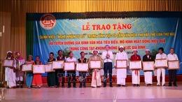 Trao tặng danh hiệu vinh dự Nhà nước cho 14 Nghệ nhân Ưu tú