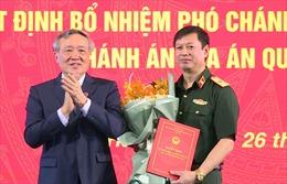 Quốc hội phê chuẩn Thiếu tướngDương Văn Thăng làm Thẩm phán Tòa án nhân dân tối cao