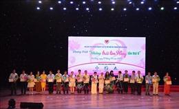Gần 500 triệu đồng ủng hộ chương trình 'Những trái tim Hồng lần thứ VIII'
