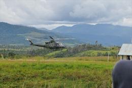 Huy động lực lượng tìm kiếm trực thăng quân sự mất tíchtại Indonesia