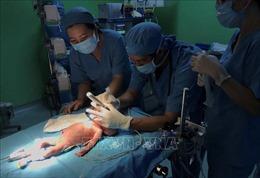 Phẫu thuật tim hở cho bệnh nhi sinh non nặng chỉ 1,6kg