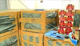 Bắt giữ xe ô tô chở gần 2 tấn Shisha từ TP Hồ Chí Minh ra Hà Nội tiêu thụ