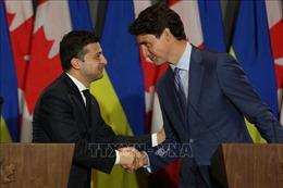 Ukraine, Canada đạt thỏa thuận về thương mại và quân sự